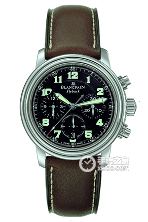 Copia Blancpain Flyback Chrono 2185F - 1130-1163 relojes [f3df]